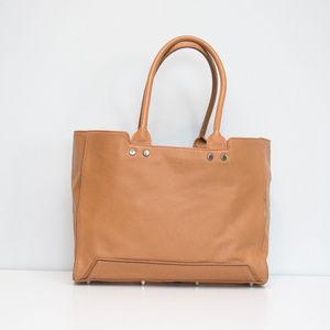 Rian Tan Leather Tote Purse